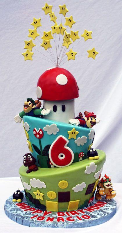 Some Super Mario Cake Super Mario Cake Ideas
