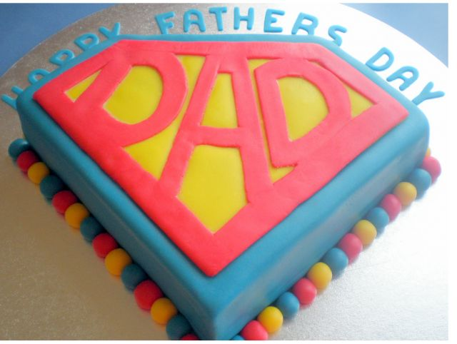 Fathers Day Themed Cake