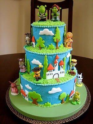 Shrek cake ideas