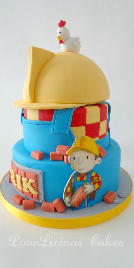 Bob The Builder Cake Ideas Bob The Builder Themed Cakes