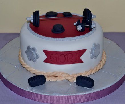 Gym Cake Ideas Gym Cake Designs Gym Themed Cakes