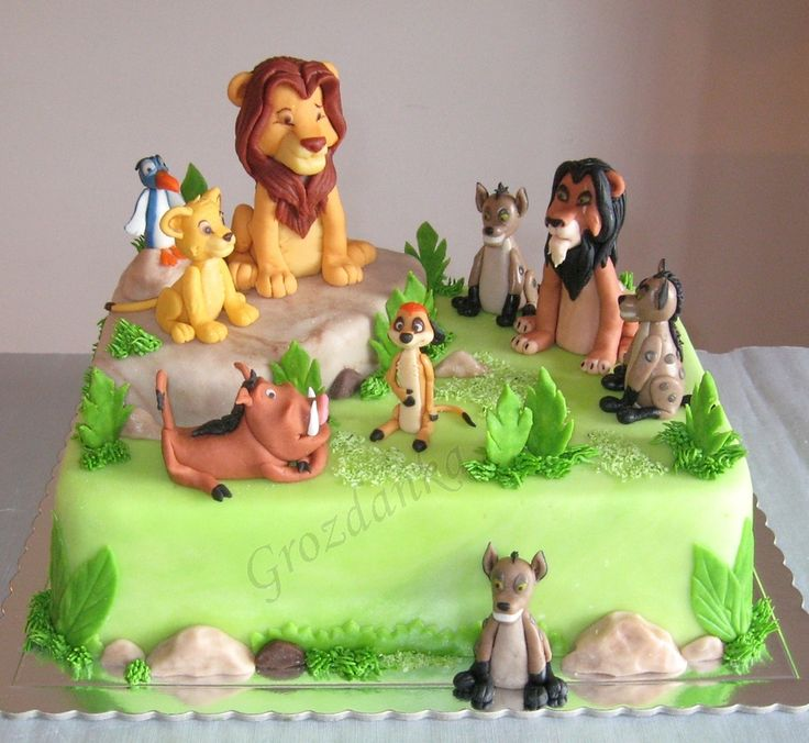 Wedding Cake Ideas: The Lion King Cake Ideas / The Lion King Themed Cakes