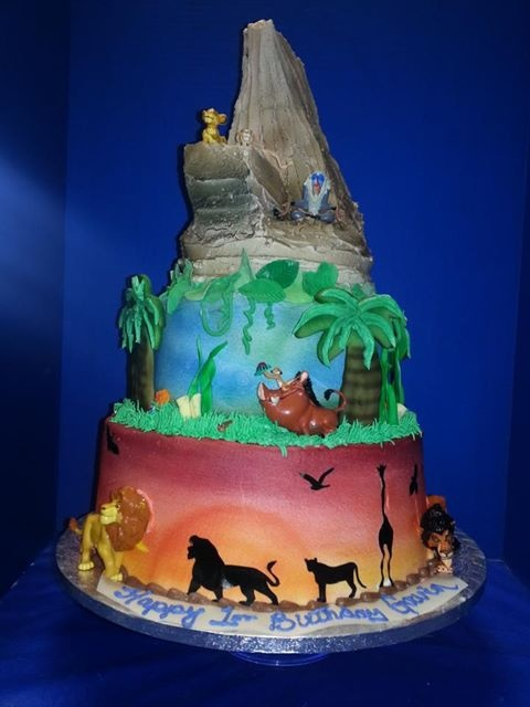 The Lion King Cake Ideas The Lion King Themed Cakes