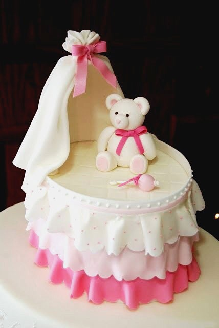 Some Cute Bassinet Cakes