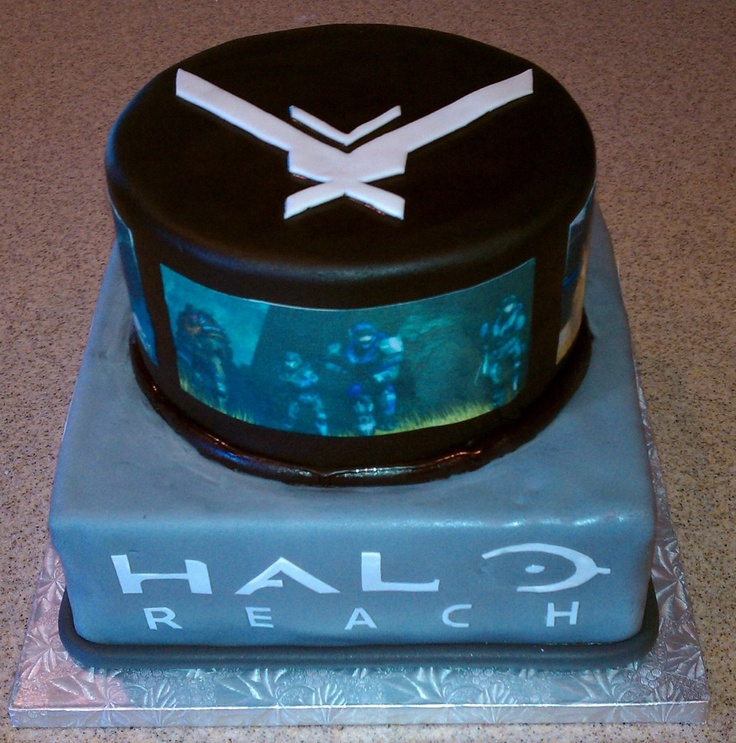 Halo Cakes Ideas Halo Themed Cakes Crust N Cakes