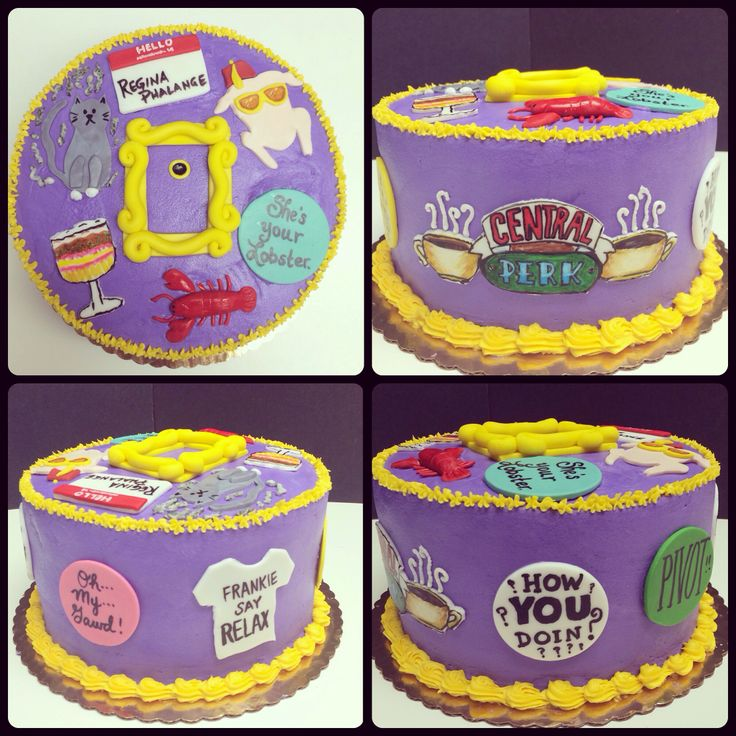 Friends Cake Ideas Friends Themed Cakes Crust N Cakes