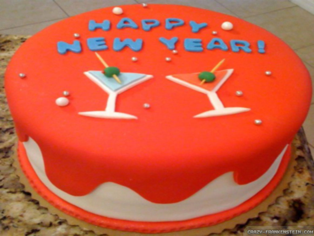 happy new year cake design ideas for 2016