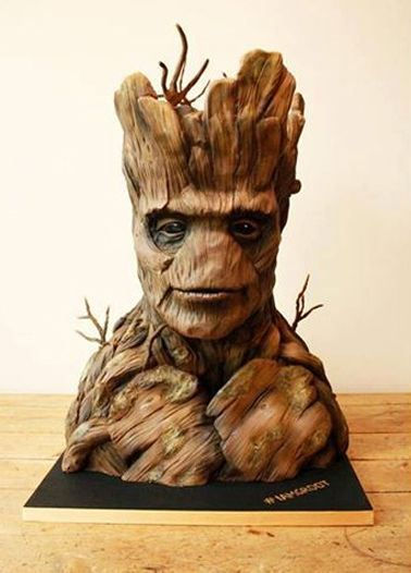 Groot Themed Cakes