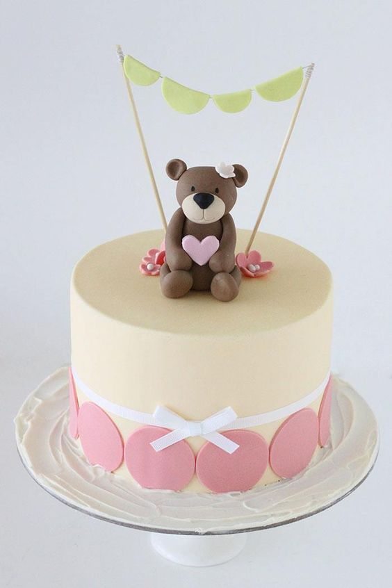 Teddy Themed Cakes