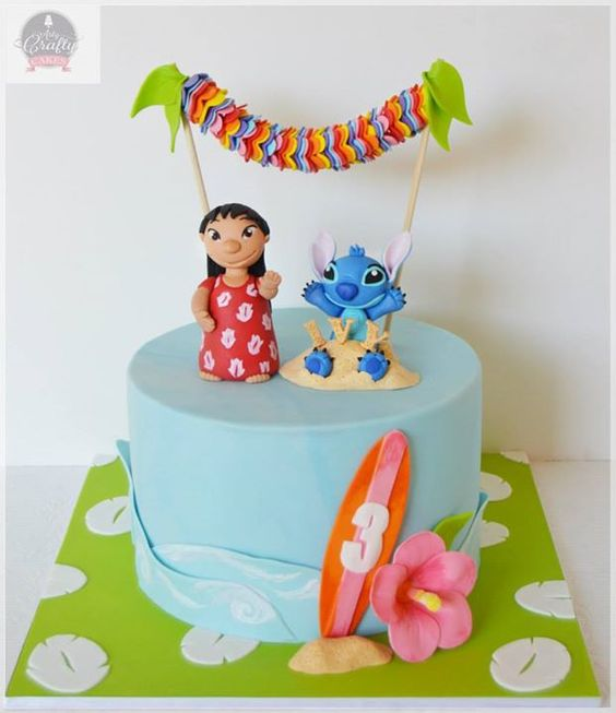 Some Cool Lilo Stitch Themed Cakes Lilo Stitch Cakes Crust N