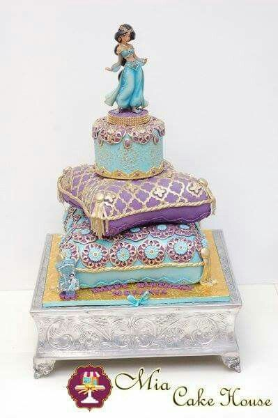 Some Cool Aladdin Themed Cakes Aladdin Cakes