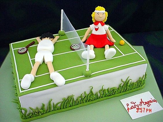 Some Tennis Themed Cakes Tennis Cake Ideas