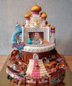 Some cute cake ideas filled with toys Crust N Cakes