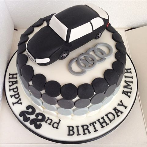 Some Smashing Audi Themed Cake Ideas Audi Cake Designs