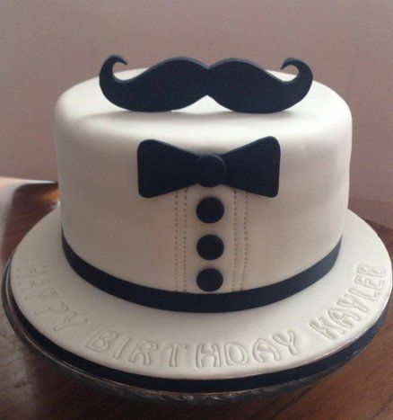 Some Cool Mustache Themed Cakes