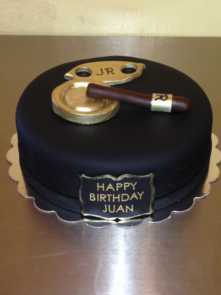 Some Best Cigar Themed Cakes On The Fathers Day