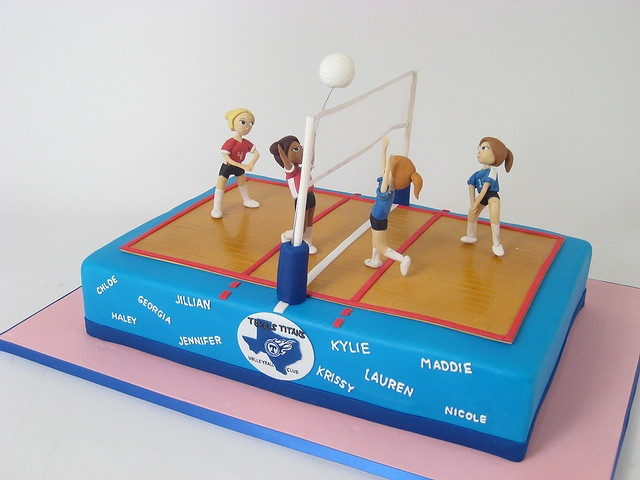Some Cool Volleyball Themed Cake Ideas