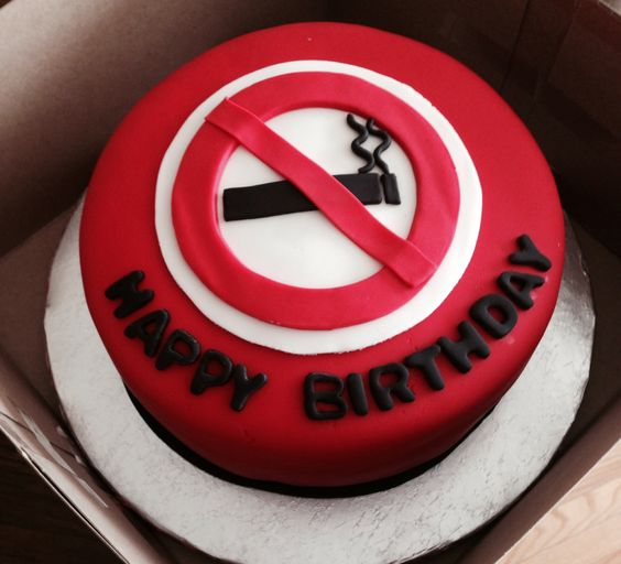 No smoking cake 4