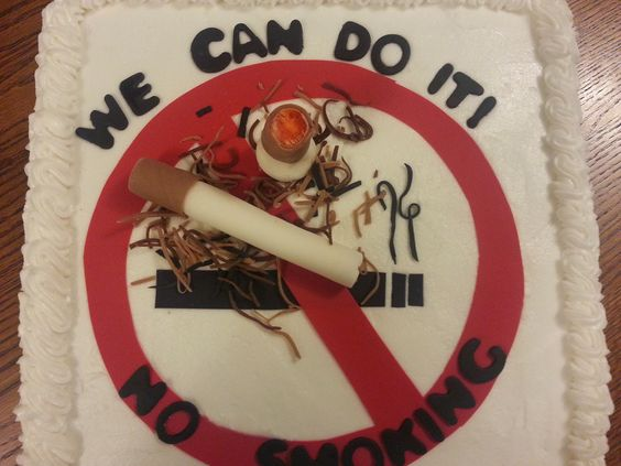 No Smoking Cake 2